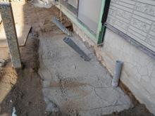 沈下修正の施工事例