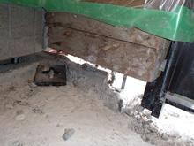 基礎と土台の切り離しアンカーボルト取り外し