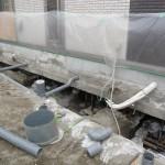 千葉県浦安市   耐圧盤25ヶ所設置