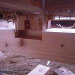 ホドを作り土台を取付け、筋交い、アンカーボルト、ホールダウン金物等で耐震改修します。